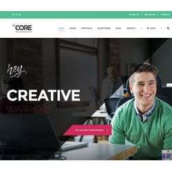 THE CREATIVE: DIGITAL AGENCY WEBSITE