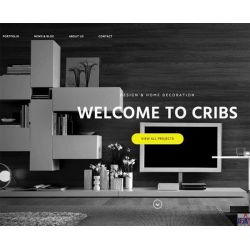 THE CRIBS: DESIGNER & ARCHITECTURE WEBSITE