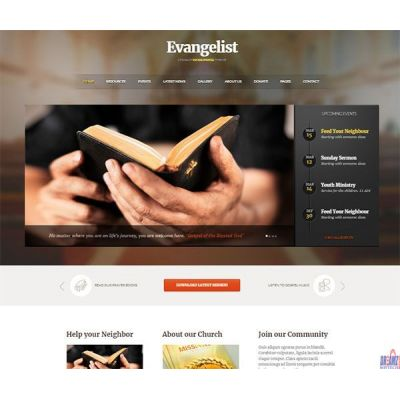 THE EVANGELIST: MUSICAL WEBSITE