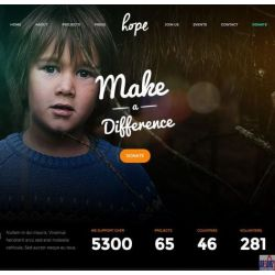 THE HOPE: NGO WEBSITE