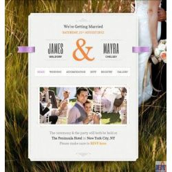 THE JUST MARRIED: A WEEDING WEBSITE