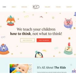 THE KID QUEST: KIDS CARE, PRIMARY SCHOOL, PLAYGROUPS  WEBSITE