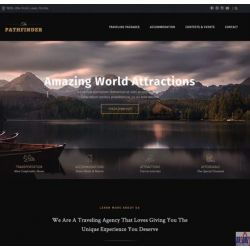 THE PATHFINDER: TRAVEL RELATED WEBSITE