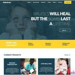 THE PHILANTHROPY: CHARITY & DONATION WEBSITE