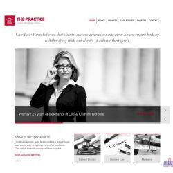 THE PRACTICE: LAWYER WEBSITE